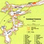 Carlsbad Caverns Sights Map