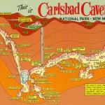 Carlsbad Caverns Map