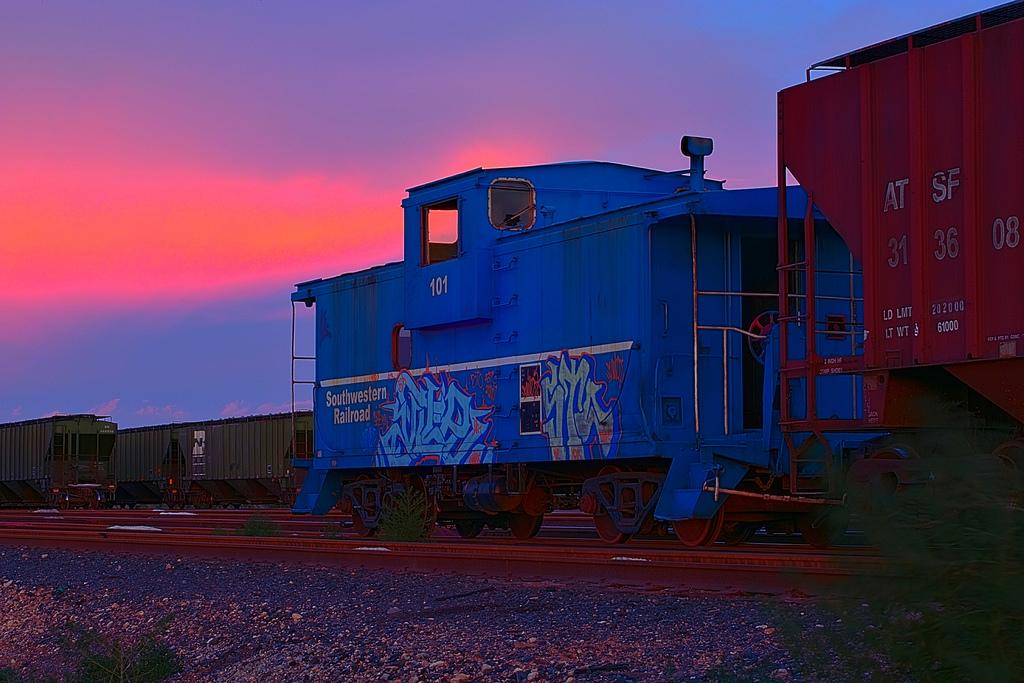 Carlsbad New Mexico - Blue Caboose - Carlsbad NM