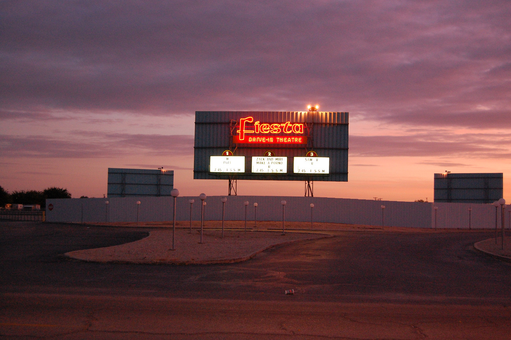 Carlsbad New Mexico - FIESTA Drive In Theatre - Carlsbad NM # OPEN!