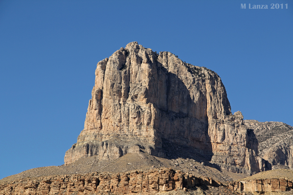 Carlsbad New Mexico - El Capitan and the Guadalupe Mountains