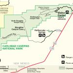 Carlsbad Caverns Maps