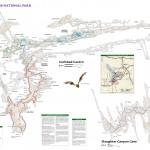 Map of Carlsbad Caverns