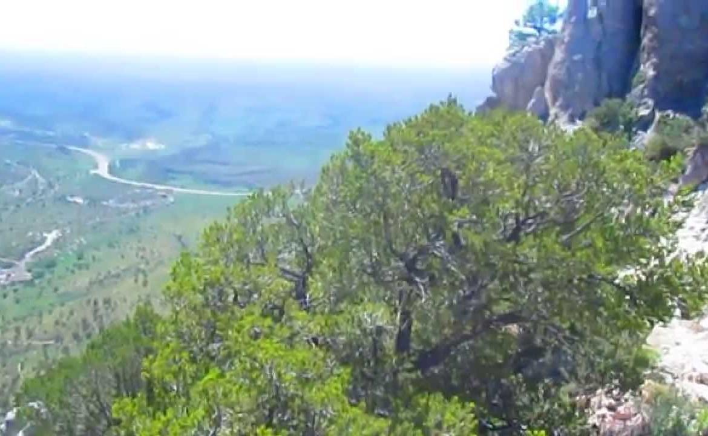Climbing Guadalupe Peak, Texas